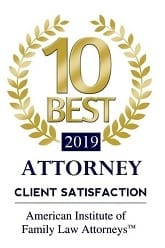 Best 2019 Attorney Client satisfaction | American Institute of Family Law Attorneys